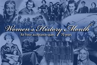 Air Force women trace history to World War II