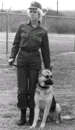 Vets Adopt Pets.org supports Military Working Dogs.  Photo from Lacklands Adoption flyer.